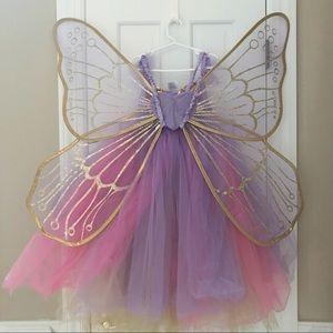 Pottery Barn Kids Lavender Butterfly Fairy Costume